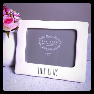 📸 RAE DUNN THIS IS US PICTURE FRAME